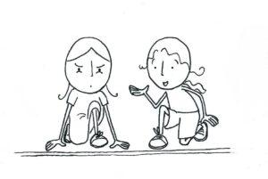 občutenje tekmovalnosti v odnosu z drugimi